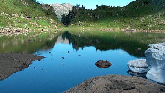 Lago di Erdemolo Um Palai Valle del Fersina Val dei Mocheni Palù del Fersina